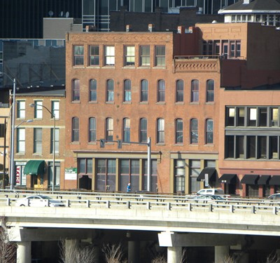 The Waterfront Building (center)