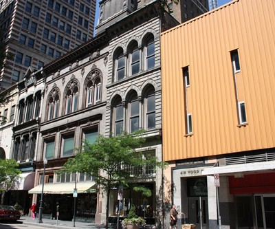 413–415 and 417 Wood Street, Downtown Pittsburgh