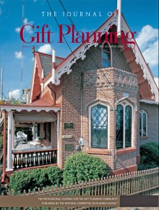 Cover of Journal of Gift Planning, Vol. 6, No. 3, 3rd Quarter 2002 - Click for Larger Image