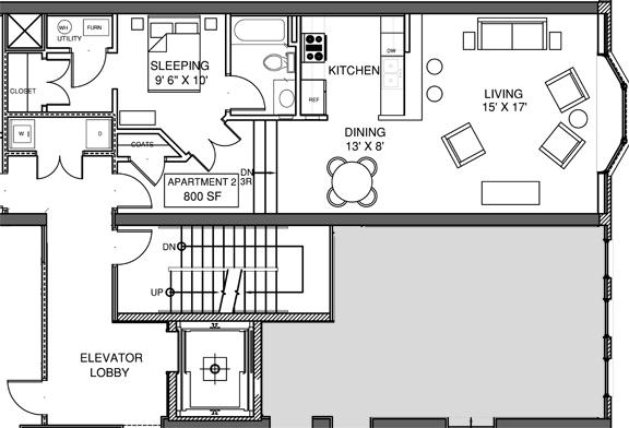 Apartment 2 Floor-plan