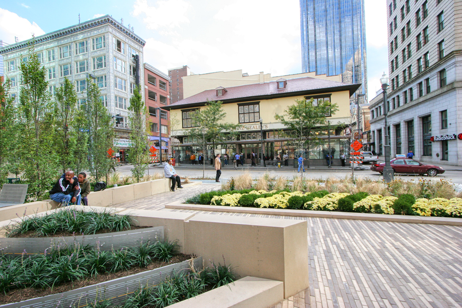 Market at Fifth is Located In The Heart of Pittsburgh's Fifth Avenue and Cultural District