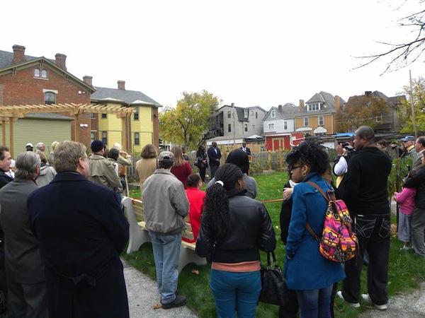 Piano Place Dedication, October 27, 2012