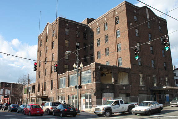 The former Penn-Lincoln Hotel