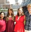 Simone D'Rosa, Sarah Collins, Molly Soffietti, and Andrew Hyatt; PHLF Summer 2015 Interns