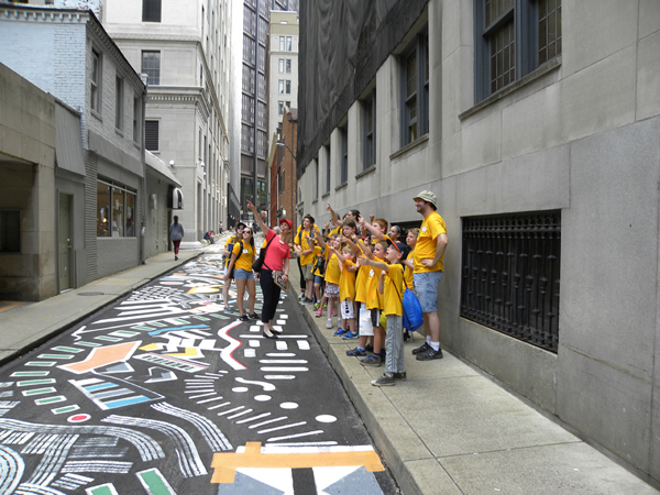 Camp Downtown, PHLF summer education program for students, sponsored by The Downtown Pittsburgh Ministries