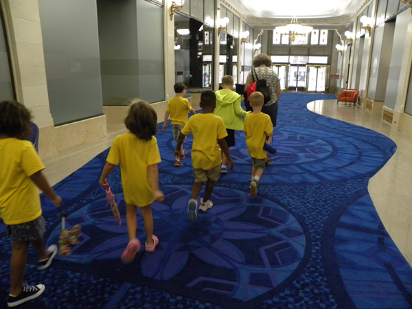 Tour of Pittsburgh's downtown fountains for Riverview Children's Center